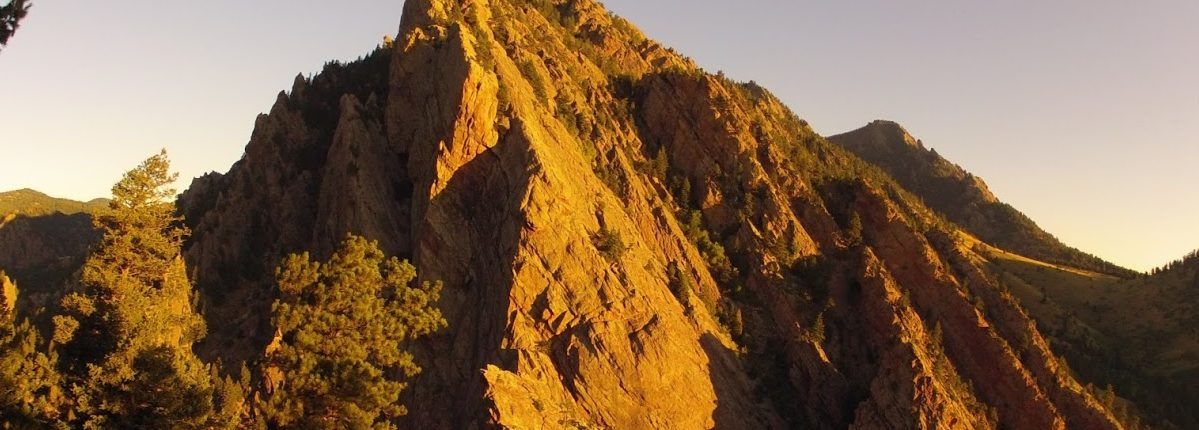 Eldorado Canyon in early morning light